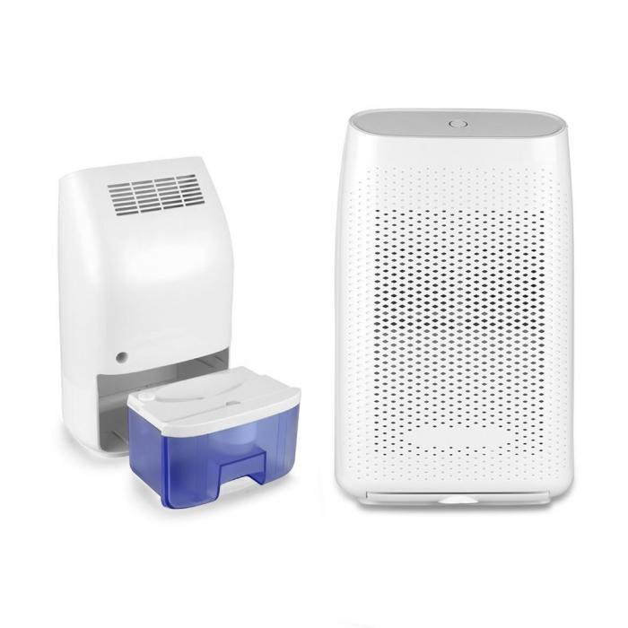 Mini Dehumidifier for Home, 700ml Electric Dehumidifier Portable and Small Dehumidifier for Bedroom, Bathroom, Moisture Absorber Damp Air Dryer in Wardrobe Kitchen Garage