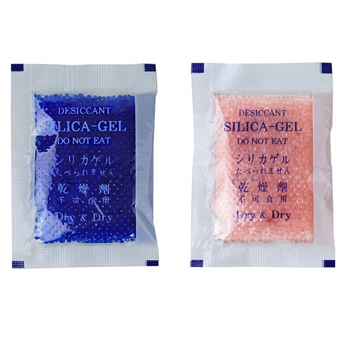 Silica Gel Blue Indicating Silica Gel Packs Desiccant Dehumidifier - Reusable Silica Packets for Moisture Absorber Silica Gel Packets China Manufacturer